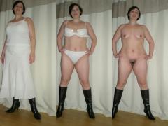 SILF from birmingham uk holly harris striptease