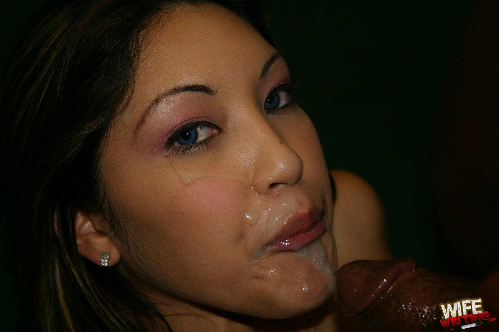 Фото сперма в азиатке 3 фотография