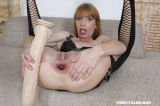 Vanda's brutal anal dildo insertion - N20