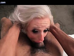 Tranny Whore Gets Mouth Fucked