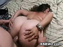 tempted-pegging-in-spicy-bbw-pee-hole