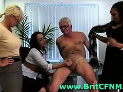 group-of-british-cfnm-girls-punishing-office-perv