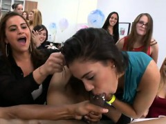 Amazing Girls Watche Their Ally Engulf Cock