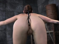 restrained-sub-with-anal-toy-spanked