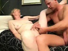 hairy granny penis blows and gets penetrated