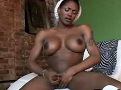 ebony-shemale-masturbating