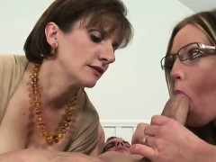 british-mistress-fucks-milf-with-strapon