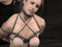 bdsm-titty-tortured-bella-rossi-caned-by-femdom