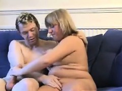 Blonde Bbw Hungry For Cock