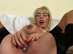 blonde-bitch-masturbating