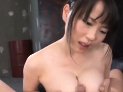 Akane Yoshinaga fucks dick with big cans
