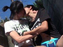 gay-asian-twinks-kissing-outdoors