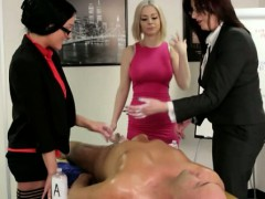 cfnm-office-matures-toying-with-boss-dick