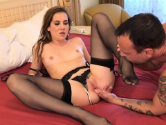 kasey-warner-strips-off-stockings-and-gets-fucked-hard