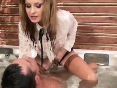 cfnm fetish ho rides cock