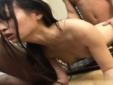 Busty girl home sex