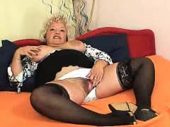 Big breasted Furry Vagina Grandma