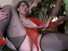 Big Horny Mother Gets Fucked By A Boy