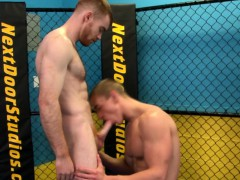 beefy-straight-guy-sucks-dick-at-the-fighting-ring