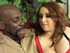 Big Busty Redhead Hungers For A Bbc