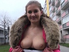 eurobabe-lilia-rafael-screwed-in-the-woods-for-money