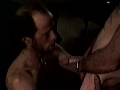 Bluecollar Matures Sucking Cock