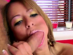 Latina slut Jodi Bean takes some dick in her tight twat