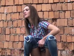 smoking-hot-brunette-pissing-nearby-a-bridge