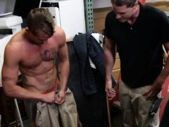 Pawnshop Gaybait In Leather Must Suck For Cash