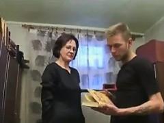 Ganny Wants Her Horny Step grandson