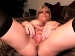 busty-milf-sucks-and-sticks-dildo-in-twat
