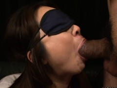 Beautiful Naughty Angel Nanako Misaki Gets Blindfolded And