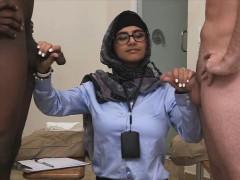 hottie babe mia khalifa monster huge penis