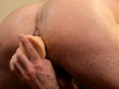 mature-billy-santoro-tugs-with-toy-in-his-ass