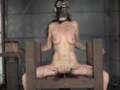 masked-sub-punished-with-shock-therapy