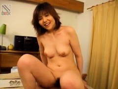 shiori-kamiya-with-playful-boobs-rides-dong-with-hairy-hot