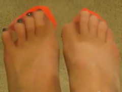feet-in-orange-stockings-point-of-view