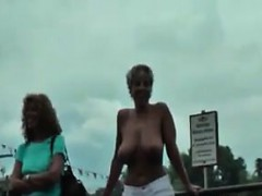 Kinky Lesbians Playing Out In Public