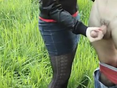 russian-gives-a-nice-handjob-outdoors