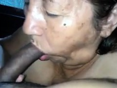 latin-grandma-sucks-cock-point-of-view