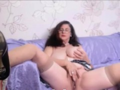 granny-with-curly-hair-and-big-tits-pleseared-herself-on-web