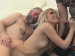 beautiful-young-hottie-gets-brave-to-suck-old-cock-of-a-guy