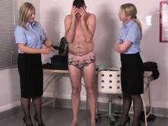 uniformed-mistresses-spanking-sissy-sub