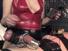 fetish-cbt-mistress-in-latex-closeup-with-sub