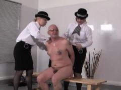 uniformed-femdoms-punish-subs-ass-roughly