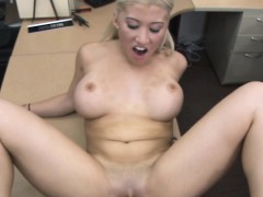 Lucky Pawnman Bangs A Blonde Babe