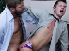 office-muscle-pounding-tight-ass