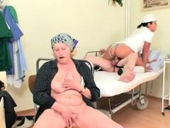 czech nurse fucks old patient near his wife – سكس اجنبي الممرضة والمريض نيك ساخن