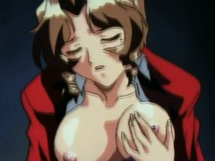 Hentai Babe With Nipple Clamps Gives Deep Head