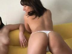 lesbian-striptease